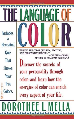Language of Color [Mella, Dorothee] (Tapa Blanda)