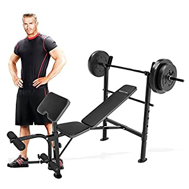 Competitor Weight Bench with 80-lb. Weight Set