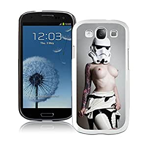 Unique And Durable Designed Case With stormtrooper White For Samsung Galaxy S3 I9300 Phone Case