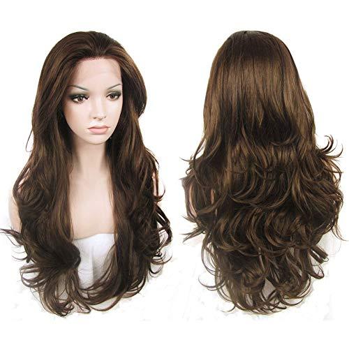 Buy long brown hair wigs
