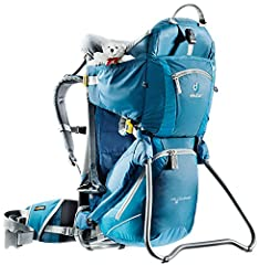 Fabric Aircontact back system and Vari Quick adjustment system Side entry for the children's seat is both convenient and safe Hydration system compatible (3L) Volume: 980cuin / 16L Weight: 7lbs 3oz / 3250g