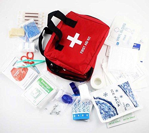 SIXPEN 救急セット ファーストエイドキット 緊急応急セット 防災セット 救急箱 応急処置22種類72セット 学校 アウトドア 旅行 非常時用