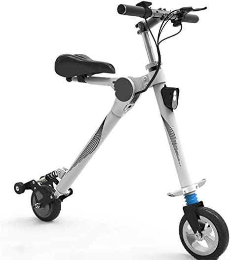 Mini Bicicleta Eléctrica, Adulto Bicicleta Eléctrica Plegable ...