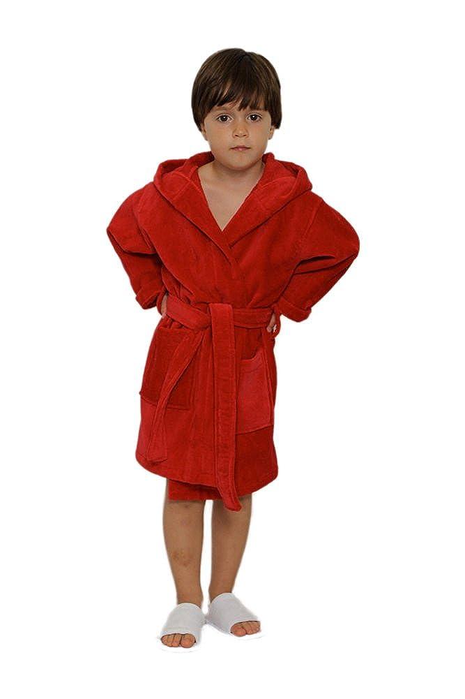 Hooded Kids Robe Terry Robe