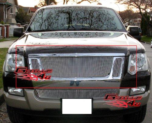 (APS Fits 07-10 Ford Explorer Sport Trac Main Upper Billet Grille Insert #F65528V)