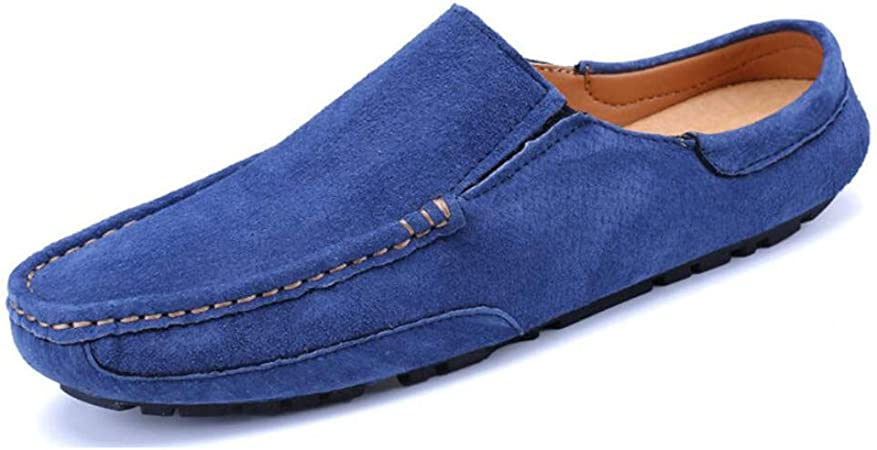 YaXuan Mens Leather Shoes Spring//Fall Comfort Loafers /& Slip-ONS Walking Shoes//Formal Shoes//Driving Shoes Lazy Shoes//Light Soles