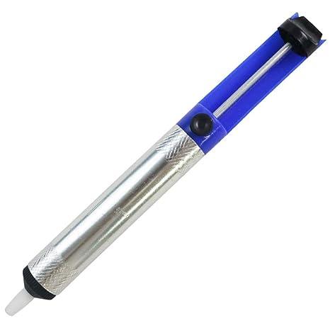 BONNIO Semi-Aluminio Soldadura Lechón Desoldador Bomba Eliminación Vacío Soldador Desoldador Succión Estaño Pluma