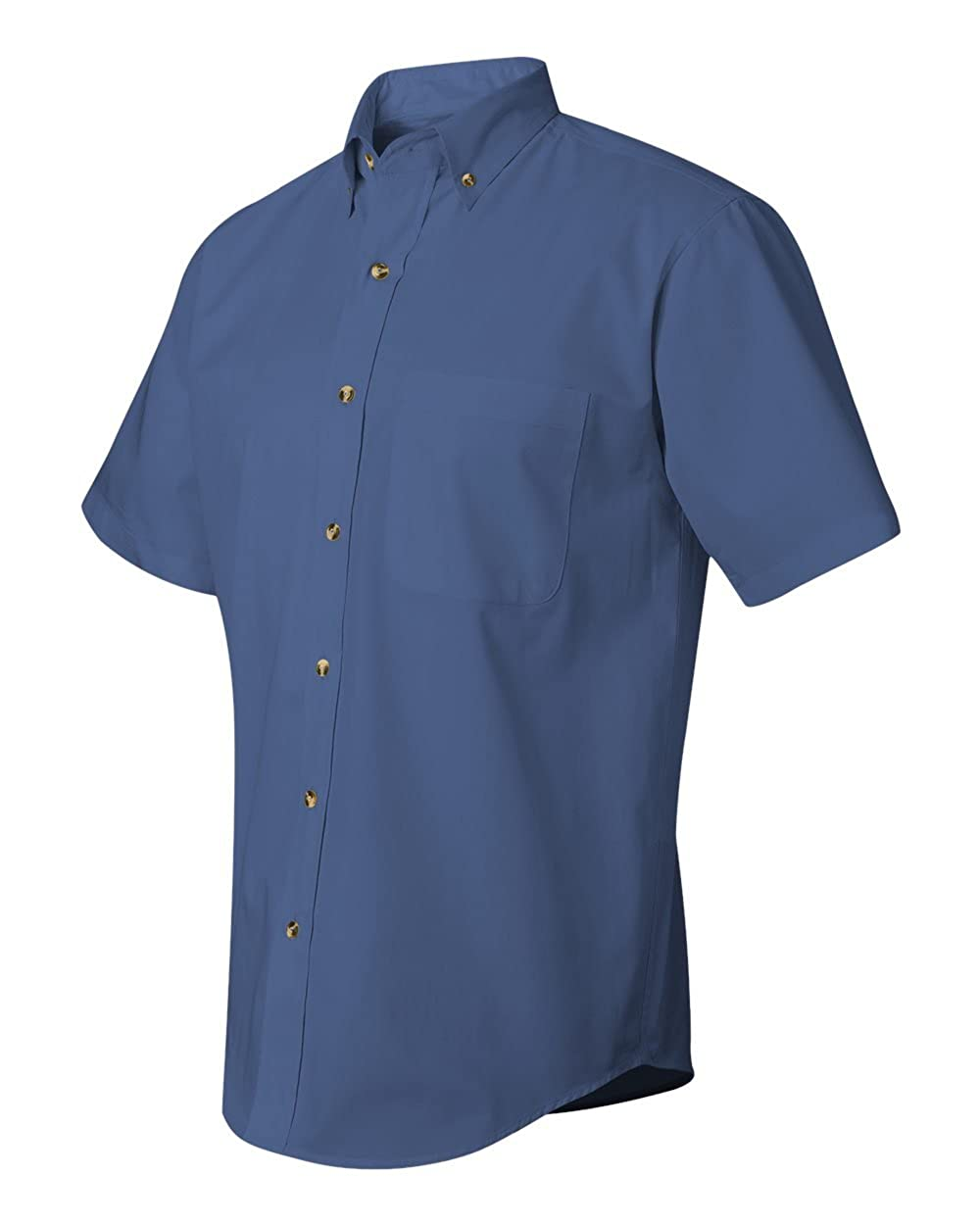 Short Sleeve Stain-Resistant Twill Shirt 0281 FeatherLite