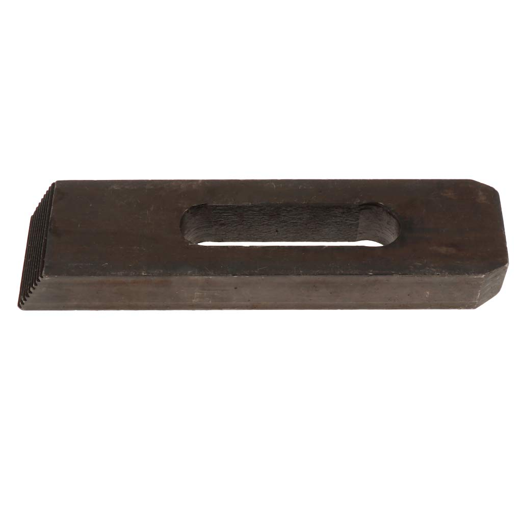Almencla Carbon Steel Super Clamp Kit Harden M20 Large Fixture Plates 200x50x26mm 1 Pieces
