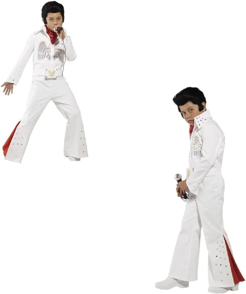 Fancy Dress Four Less Elvis Presley - Disfraz para niño, color ...
