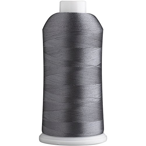SuperB Polyester Embroidery Thread 40wt 5000m. Charcoal Gray 115 (Charcoal Machine)