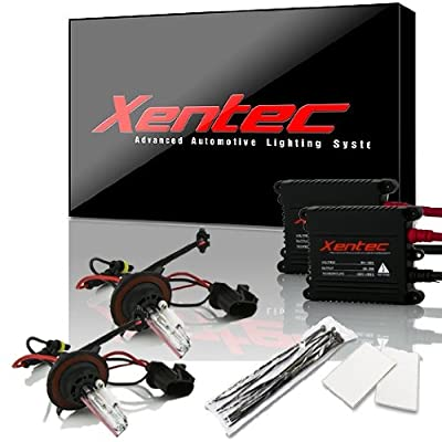 XENTEC H13/9008 10000K Advanced Slim Alloy Ballast HID Xenon Kit w/ Hi-beam Halogen