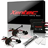 2010 camaro hid kit - XENTEC H13/9008 Hi/Lo 6000K Advanced Slim Alloy Ballast HID Xenon Kit w/ Hi-beam Halogen (Ultra White)