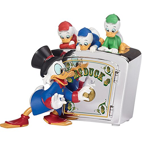 Precious Moments Disney #173702 Family Is Priceless - Duck Tales Bank ()