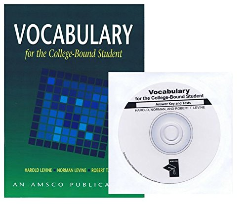 Vocabulary for the College-Bound Student Edition and Answer key and test CD Set (Vocabulary For The College Bound Student Answer Key)