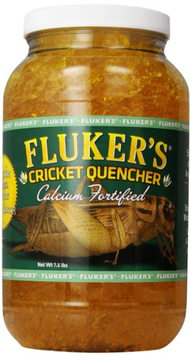 - Fluker Labs SFK71203 Calcium Fortified Cricket Quencher, 7.5 lb