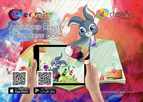 Animation In Augmented Reality Coloring Books For Kids The