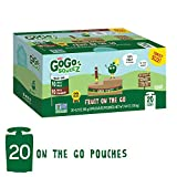 GoGo squeeZ Applesauce on the Go, Variety Pack (Apple Apple/Apple Cinnamon), 3.2 Ounce (20 Pouches), Gluten Free, Vegan Friendly, Healthy Snacks, Unsweetened, Reusable, BPA Free Pouches Review