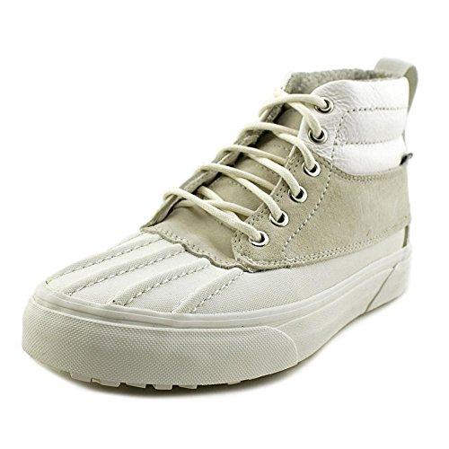 d151879e0d Galleon - Vans Womens SK8-HI Del Pato MTE Scotchgard Sneaker Blanc De Blanc Polka  Dots Size 5.5