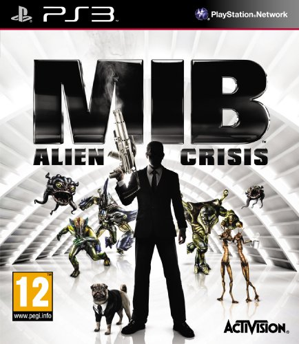 Activision Men In Black: Alien Crisis PS3 (Men In Black Alien Crisis)