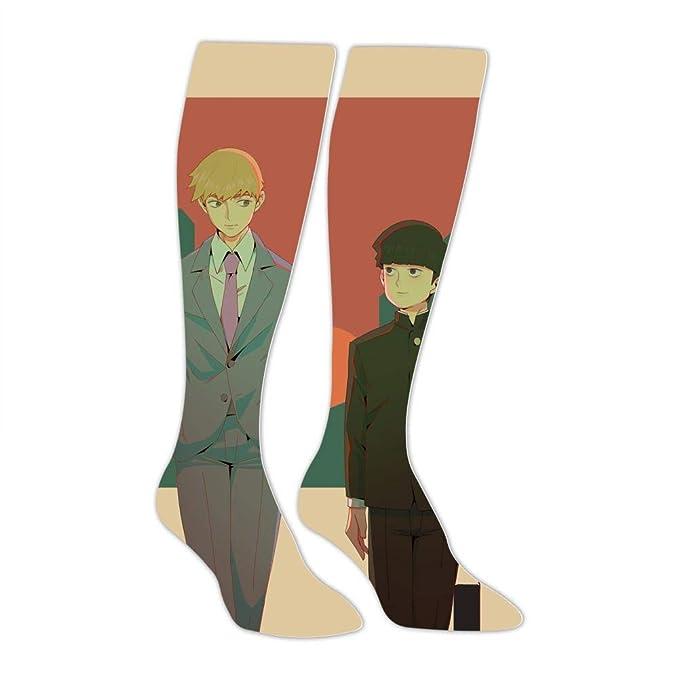 b71cec9d10c7c Amazon.com: Mo-bu and Rei-gen Unisex High Knee Socks 3D Soft Long ...