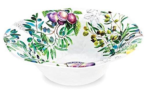 Michel Design Works Melamine Serving Bowl, Large, Tuscan (Design Serving Bowl)