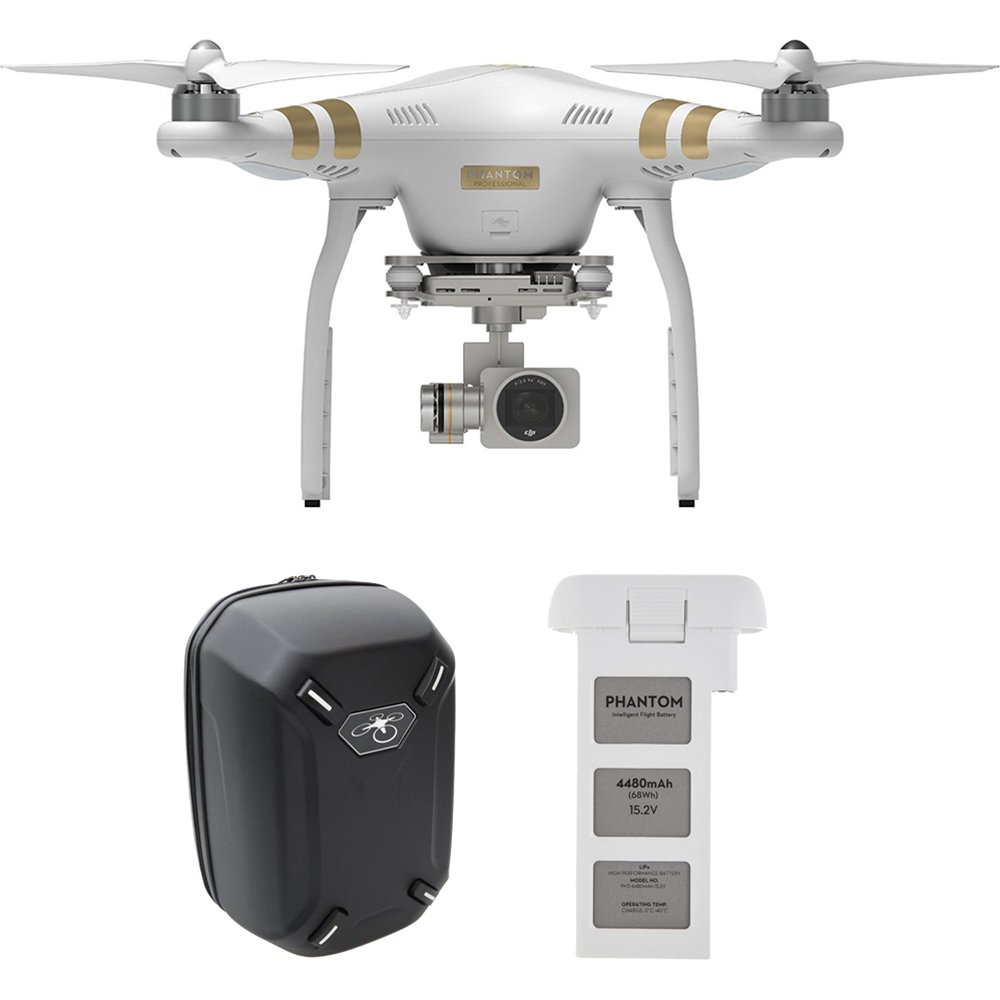Dji Phantom 3 Professional Quadcopter With 4K Camera 3-Axis Gimbal Extra Batt.. 16