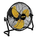 Master PROFESSIONAL MAC-12F High Velocity Direct Drive Floor Fan, 12 inch, Black
