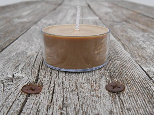 Spiced Chestnuts & Sugar Scent Soy Tealight Candles (Fragrance Oil Spiced Sugar)