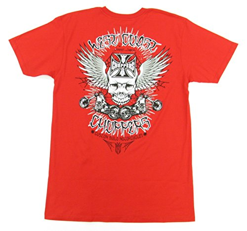 Buy west coast choppers t shirt red