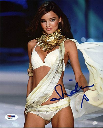 Miranda Kerr Victoria'S Secret Signed Authentic 8X10 Photo PSA/DNA - Kerr Miranda Secret Victoria