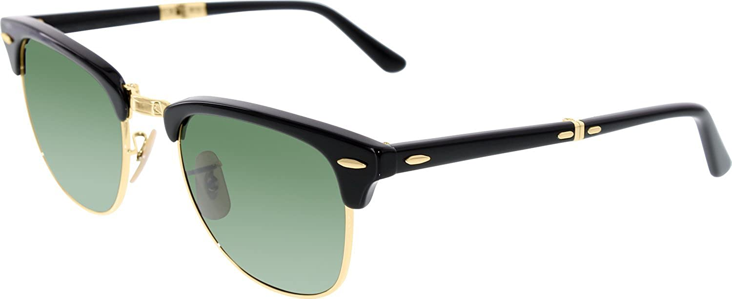 Ray-Ban CLUBMASTER FOLDING (RB 2176 901 51): Amazon.es: Ropa ...