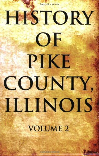 History of Pike County, Illinois pdf