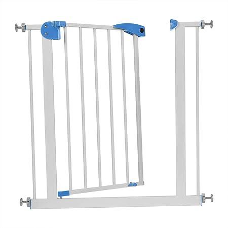 Cocoarm Quick Close Treppenschutzgitter, Schutzgitter Mira Treppen-/Tür- schutzgitter für Kinder, Hunde und Katzen Treppensch