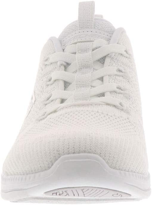 Skechers dames sportschoenen City PRO - Glow ON 104015 WSL wit 840592 Wit Zilver
