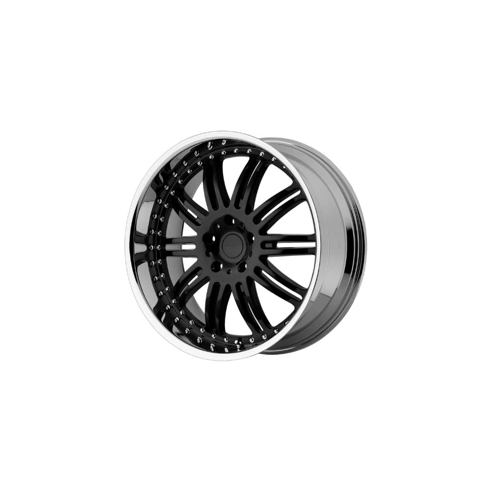 KMC KM127 22x9.5 Black Wheel / Rim 5x115 with a 18mm Offset and a 72.60 Hub Bore. Partnumber KM12722915518