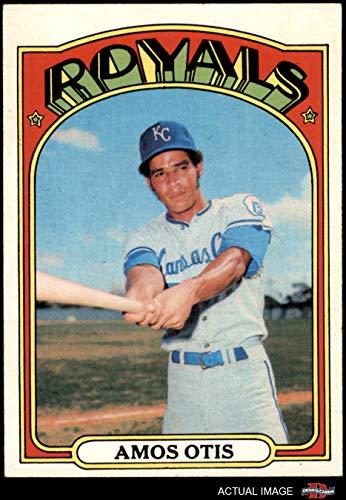 - 1972 Topps # 10 Amos Otis Kansas City Royals (Baseball Card) Dean's Cards 5 - EX Royals