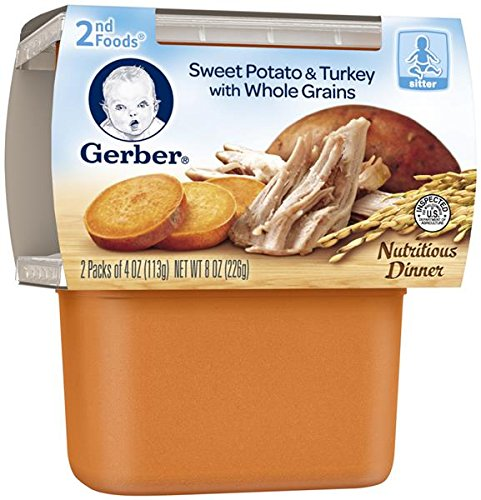 Gerber Foods Sweet Potato Turkey