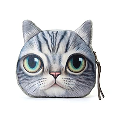 Zarapack Women's Wild Cat Series Coin Purse Wallet