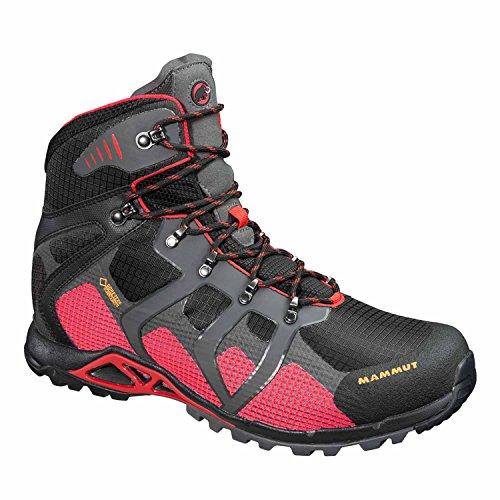 Mammut Comfort High GTX Surround Hiking Boot - Mens-Black/Inferno-Medium-9 3020-4370-575-US 9 hiNvSDE3vS