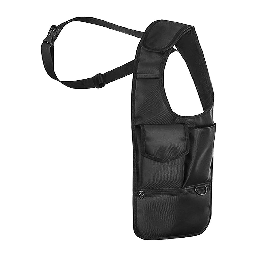 BlueStraw Nylon Anti-Thief Hidden Underarm Shoulder Bag Concealed Pack, Multi-Purpose Men/Women Safety Storage Shoulder Armpit Bag Holster Tactical Bag for Travel Outdoors (Right-Handed) by BlueStraw