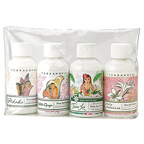 - Terranova Island Escapes Lotion Gift Set 2.25 Ounce Bottles