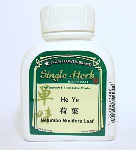 - Lotus Leaf Herb Extract Powder / He Ye / Nelumbo Nucifera, 100g or 3.5oz