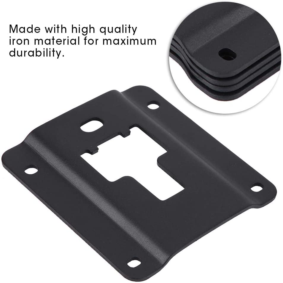 Brackets Plates,4pcsTruck Cargo Tie-Down Brackets Plates with Anti-Theft Screws for Ford F150 F250 F350 15-18