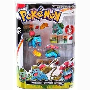 Pokemon TOMY Basic Figure Evolution 3-Pack Bulbasaur, Ivysaur & Venusaur by Pokemon Center
