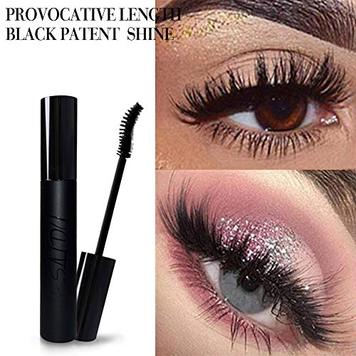 Mesaidu Mascara 3D Fiber Lashes, Best Black Lash Fibers with Waterproof & Hypoallergenic Ingredients