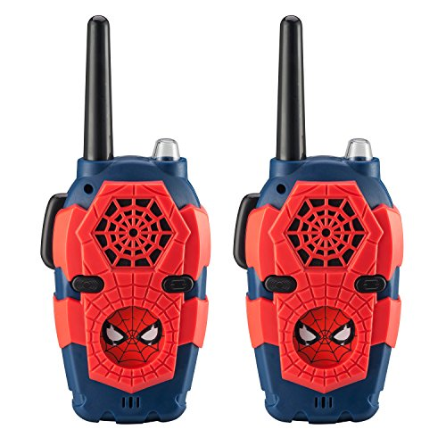 Spiderman FRS Walkie Talkies for Kids with Lights and Sounds Kid Friendly Easy to Use -  Marvel, SM-212.EEV8