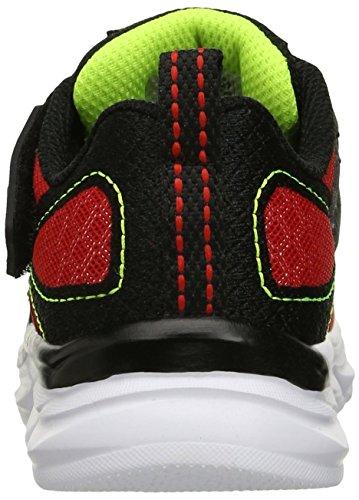Zapatillas deportivas Skechers Kids Advance (ni�o peque�o), rojo / negro