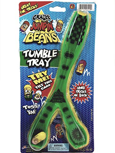 Crazee Jumpin Beans Tumble Tray Game With 1 Bean ( For Crazee & Other Beans Collectors) from Crazee Beans