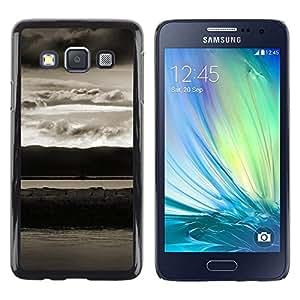 Be Good Phone Accessory // Dura Cáscara cubierta Protectora Caso Carcasa Funda de Protección para Samsung Galaxy A3 SM-A300 // Abstract Landscape